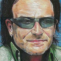 Tint... Bono #u2ietour by u2oficial