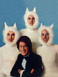 Jacques Dutronc and his kittens The Wicked The Divine, Awkward Family Photos, Mode Vintage, Weird And Wonderful, Collage, Crazy Cats, Art Inspo, Vintage Photos, Kittens