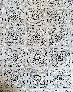 Provincial Crochet Bedspread Pattern