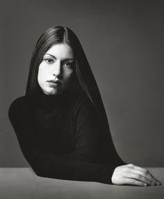 Sofia Coppola photographed by Marc Hom for W magazine 1993.