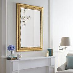 Buy John Lewis Beauchamp Gilt Mirror, 137 x 107cm Online at johnlewis.com