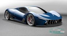 Siêu xe Maserati ấn tượng lấy cảm hứng từ LaFerrari