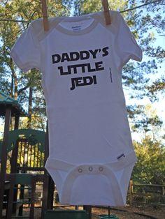 Daddy's little Jedi onsie