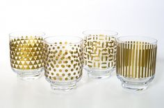 How To Decorate Party Glassware: 14 DIYs