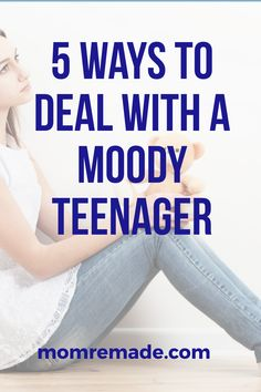 Are you dealing with a moody teenager? Check out these parenting hacks to help you get through the drama. These difficult years will not last forever. #parenting #hacks #mom #family #life #teenager #truths #tips Parenting Goals, Parenting Teenagers, Gentle Parenting, Parenting Hacks, Advice For New Moms, Mom Advice, Difficult Children, Family Problems, Activities For Teens