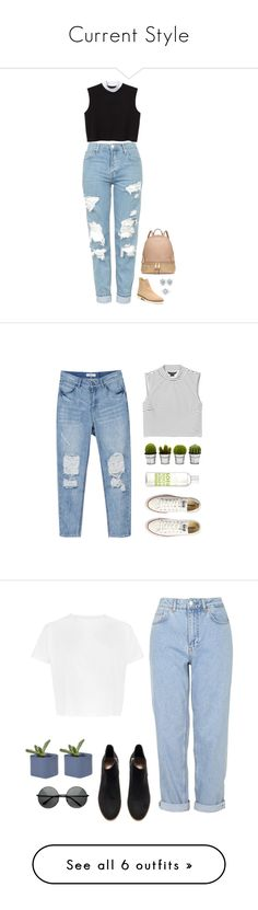 """Current Style"" by website-signup-account ❤ liked on Polyvore featuring Stuart Weitzman, Topshop, Monki, Michael Kors, Converse, La Compagnie de Provence, Billabong, Boutique, H&M and Dot & Bo"