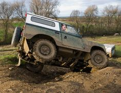 Land Rover 88 Serie III Sw Playing to jock..lol)