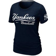 Yankee baseball practice navy t shirt