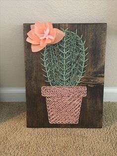Latest Trend in Paper Embroidery - Craft & Patterns String Wall Art, Nail String Art, String Crafts, Cute Crafts, Crafts To Do, Arts And Crafts, Diy Crafts, String Art Tutorials, String Art Patterns