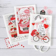 Echo Park Paper Co. (@echoparkpaper) • Instagram photos and videos Valentine Day Love, Valentine Day Cards, Echo Park Paper, Papers Co, Card Making, Sketches, Photo And Video, How To Make, Scrapbooking Ideas