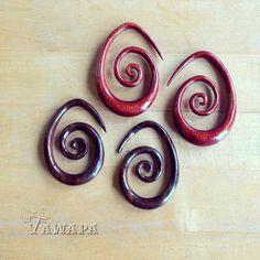Tawapa Bloodwood and Ebony Oval Spirals