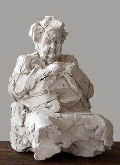 & # Making of & # Elly Gertzen - Statuen - Pottery Sculpture, Sculpture Clay, Modern Sculpture, Abstract Sculpture, Ceramic Painting, Ceramic Art, Ceramic Pottery, Pottery Art, Ceramic Sculpture Figurative