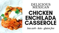 Why does my dishwasher smell like wet dog? How to fix it. - 730 Sage Street Easy Enchilada Casserole, Chicken Enchilada Skillet, Chicken Enchiladas, Cheeseburger Casserole, Egg Casserole, Baked Chicken Tenders, Breaded Chicken, Keto Chicken, Chicken Cordon