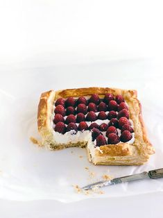Put all those yummy spring berries to good use with this simple tart recipe!