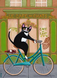 Ryan Conners' Folk Art & Photography Kilkennycat - Charlie loved early morning bicycle rides, because...