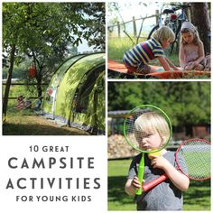 10 great campsite activities | Young & Younger