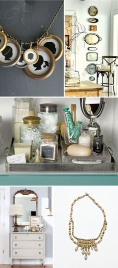 tips on mixing metals in your decor