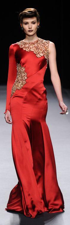 Jenny Packham – Runway :: Fall 2012 Mercedes-Benz Fashion Week