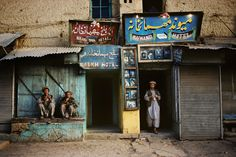Steve McCurry in Afghanistan.