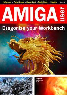 Brand new magazine: Amiga User Create Animation, News Magazines, Retro, Retro Illustration