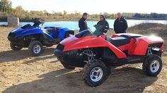 I want this!!!!!!!!!  4 wheeler that turns into a jet ski!