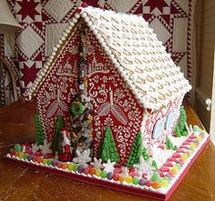 Gorgeous gingerbread house!