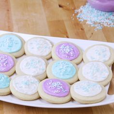 The Softest Frosted Sugar Cookies Ever