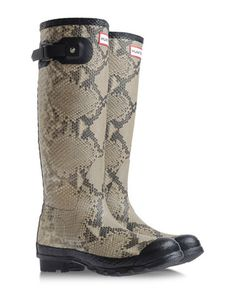this is a nice combi! > Rainboots & Wellies - HUNTER