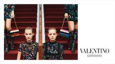 Valentino Fall Winter campaign captured by fashion photographer Michal Pudelka featuring top models Grace Hartzel, Ine Neefs and Maartje Verhoef. Editorial Photography, Fashion Photography, Templer, Fashion Advertising, 2015 Trends, Editorial Fashion, Fashion Trends, Fall Winter 2015, Autumn