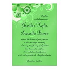 See MoreGreen Hibiscus Floral Custom Wedding Invitation Personalized Invitesin each seller & make purchase online for cheap. Choose the best price and best promotion as you thing Secure Checkout you can trust Buy best