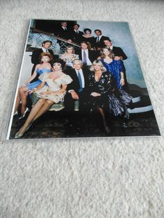 Dynasty season 8 cast photo (1987)