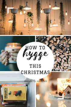Tips for a Hygge home at Christmas. Best Hygge home tips for a cosy home.