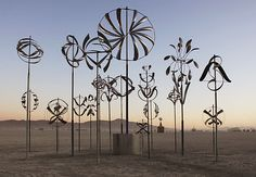 Lyman Whitaker Kinetic Sculpture Installation - 2011