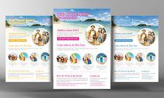 Tour Travel Flyer Template - Flyers - 1