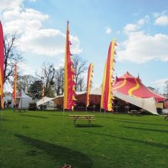 The Big Top and Festival Bar. Cheltenham Jazz Festival 2013.
