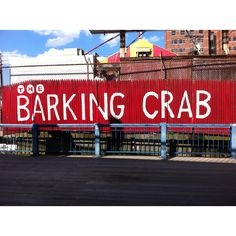 Greatest seafood I've ever had! Barking Crab in Boston