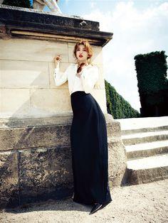 Suzy // Harper's Bazaar Korea // August 2013
