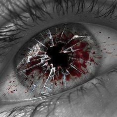 """Broken Eye"" , made by: CJDevil on deviantart"