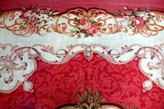Antique Aubusson French Carpet Rug 3