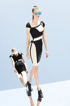 30ffa8675860f Herve Leger by Max Azria s Resort 2013 Collection Max Azria