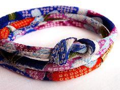 Japanese gift: Kimono bracelet for Christmas gift, Birthday gift and Valentines day gift by IrodoriLife