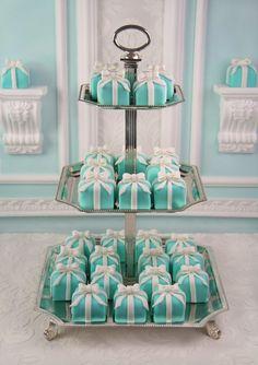 ❤ Tiffany blue box petit fours