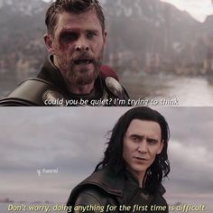 Marvel Avengers 200691727132514384 - 33 Hilarious Tom Hiddleston Loki Memes That Will Make You Laugh Out Loud Source by armindoferreira Avengers Humor, Marvel Avengers, Marvel Jokes, Funny Marvel Memes, Dc Memes, Marvel Heroes, Hilarious Memes, Loki Funny, Loki Sad