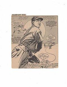Bucky Walters Cincinnati Reds Newspaper Cartoon Cut Out by Tom Paprocki Cincinnati Reds, Cleveland Indians, Newspaper Cartoons, Baseball Art, Favorites List, Babe Ruth, Ny Yankees, Detroit Tigers, Bucky