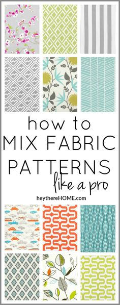 Sewing Quilts This is so much easier than I thought! Just a few easy steps to mixing patterns. It's going to help so much when it comes to adding interest to my home xxxdecor. Quilting Tips, Quilting Tutorials, Sewing Tutorials, Sewing Hacks, Sewing Crafts, Sewing Tips, Fabric Crafts, Quilting Fabric, Sewing Ideas