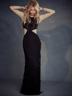 Free People Lady Victoria Cutout Maxi at Free People Clothing Boutique