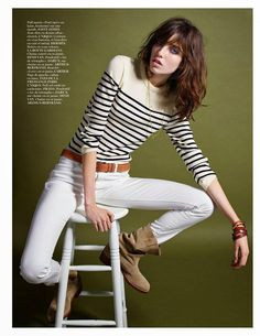 Grace Hartzel by Mario Sorrenti / Variations sur un même thème / Vogue Paris, December 2014