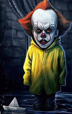 "Horror Movie Art : ""Pennywise"" IT 2017."