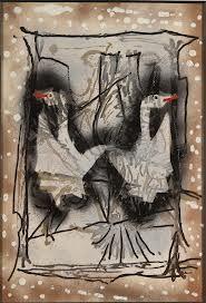 Jean-Paul Riopelle Large Canvas, Art Plastique, Sculpture, Les Oeuvres, Abstract Art, Illustration Art, Images, Palette, Birds