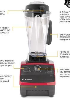 Vitamix Review #Vitamix Use code 06-006499 for free shipping at Vitamix.com and all new blenders come back by a factory 7 year warranty